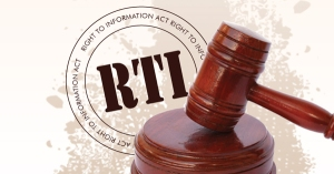 RTI logo - Gavel